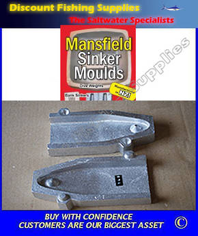 Sinker Mould - Tombstone (RIP) 80oz OR Less