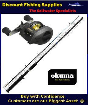 Daiwa accudepth phantom x baitcaster combo daiwa trout for Wholesale fishing tackle outlet