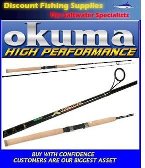 "Okuma X-Factor 6-10kg 7'0"" DROPSHOT Spin Rod 2pc"
