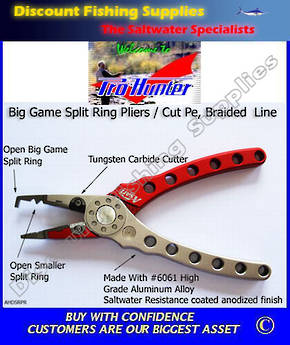 Pro Hunter Asari Split Ring Pliers - Heavy Duty