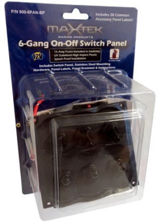 maxtek 6 gang switch panel 1