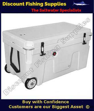 Kiwi Outdoors 90L Chilly Bin With Wheels