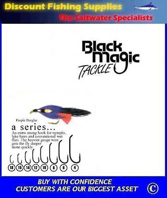 "Black Magic ""A"" Series Fly  Hooks"