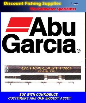 Abu Garcia Ultra Cast Pro 7ft Spin (rock) Rod 4-8kg