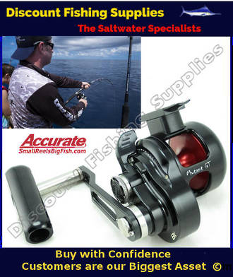 Accurate Mutant MGT500xn Underhead Jigging Reel