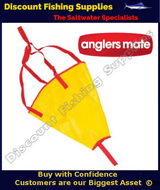 "AnglersMate Kayak Sea Anchor 18"" Boats 10' - 12'"