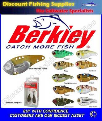 Berkley BigEye Blades - Pearl Watermelon
