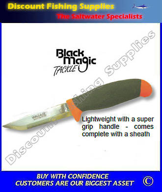 Black Magic Bait Knife