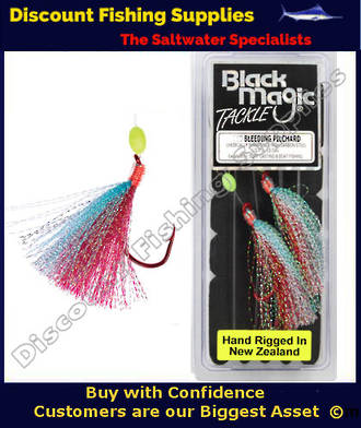 Black Magic 1/0 Bleeding Pilchard