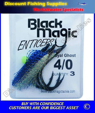 Black Magic Enticer Flies 1/0
