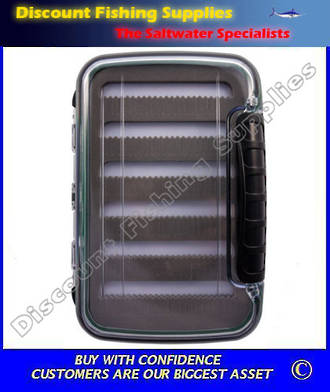 Black Magic Fly Box Large - Waterproof