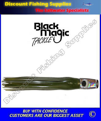 Black Magic Fugly Squid - Marlin / Tuna Lure
