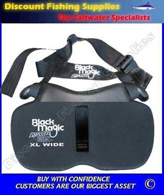 Black Magic Gimbal Belt - XL Wide