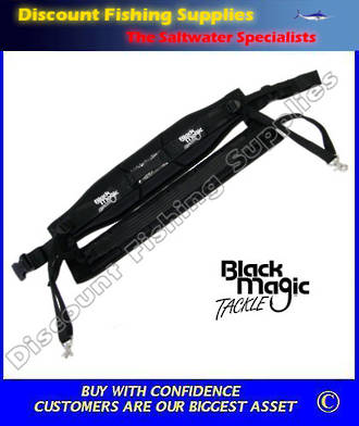 Black Magic Game Harness - XL WIDE Size