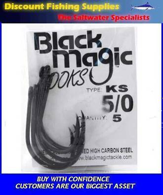 Black Magic KS Hooks - Bulk Pack
