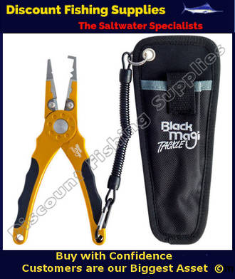 Black Magic HD Split Ring Pliers - Gold