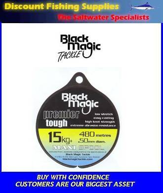Black Magic Premier Tough 1/4lb Copolymer Line Maxi Spool