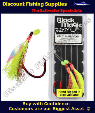 Black Magic Flasher KL8/0 XXL Snapper Snatcher