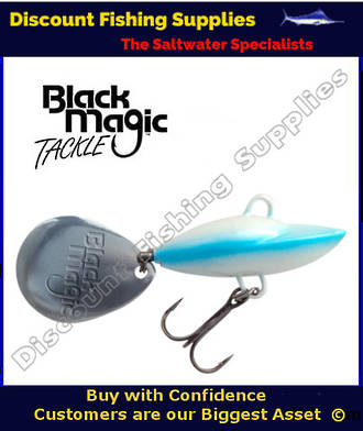 Black Magic Spinsect Blue Bait Lure 28gr