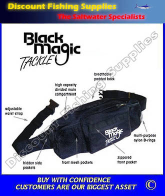 Black Magic Waist Pack (Bum Bag)