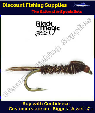 Black Magic Pheasant Tail Nymph #12
