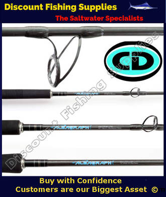 CD Albagraph 4 Overhead Casting Rod 6kg 2pc