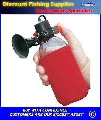 Eco-Blast Marine Air Horn (refills with air)