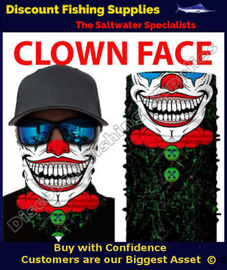 Face Shield - Clown Face