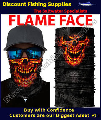 Face Shield - Flame Face
