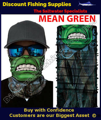 Face Shield - Mean Green