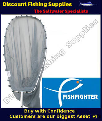 Fishfighter Whitebait Scoopnet 12ft With Trap
