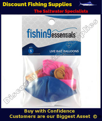 Fishing Essentials LiveBait Balloons (5 Pack)