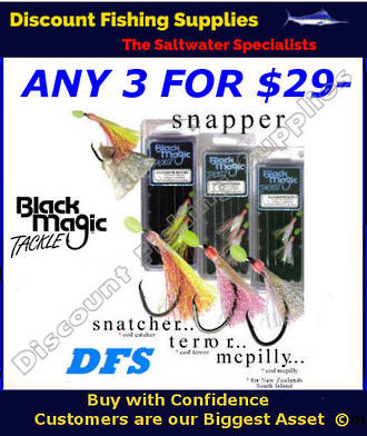 Black Magic Flasher Rigs - 3 FOR $29- DEAL