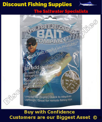 Freeze Dried Real Shrimp Bait 20gr (Original Weight 100gr)