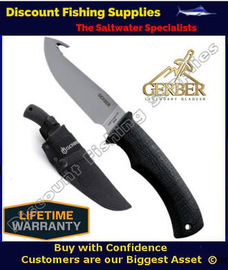 Gerber Gator Fixed - Gut Hook, Fine Edge