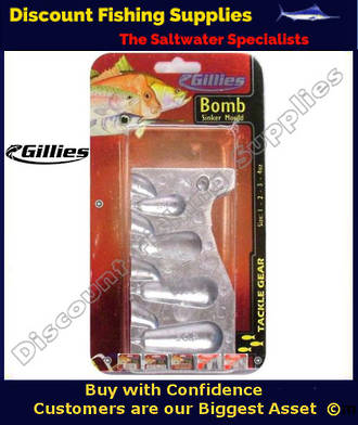 Gillies  Sinker Mould Bomb Combo Sml