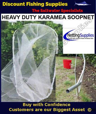 ScoopNet 3.65m Karamea With Trap - Ulstron HEAVY DUTY