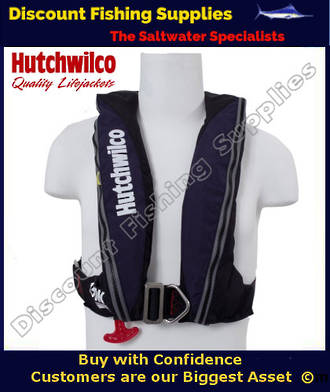 Hutchwilco Super Comfort Inflatable Lifejacket - 150N With Harness