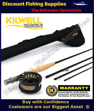 Kilwell Fly Combo Dragonfly 9064 - WF6F with Tube