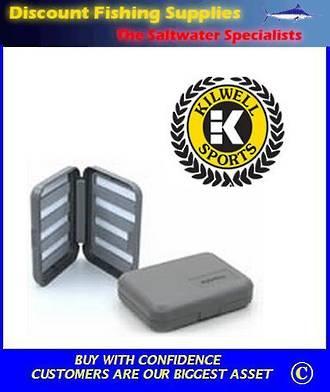 Kilwell Slit Foam Fly Box - 8 bars