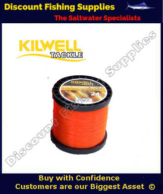 Kilwell IGFA Tournament Fishing Line 37kg X 1000m - ORANGE