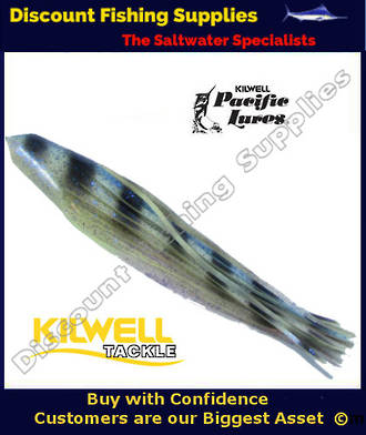 "Kilwell Pacific Lure Skirt - Blue Speckles 11.5"" No22"