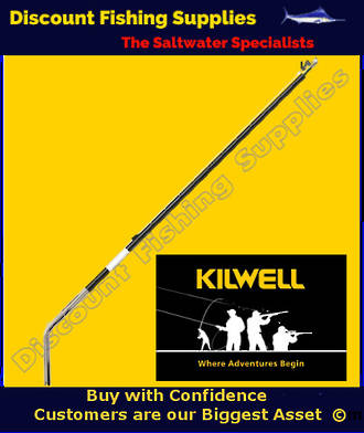 Kilwell NZ Outriggers 3.6m 2pc Bent Base - Telescopic
