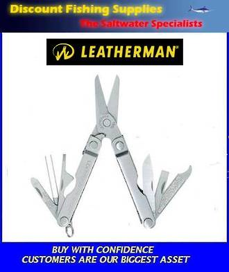 Leatherman Micra Multi Tool - Stainless