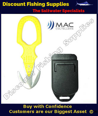 Mac Twin Rescue Safety Knife