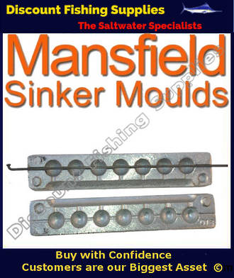Sinker Mould - Ball Sinker - 7 X 7/8oz (018)