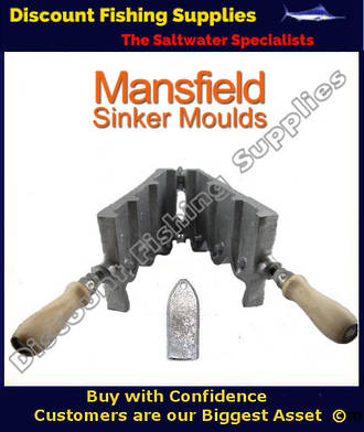 Sinker Mould - Tombstone (RIP) 10,14 & 24oz