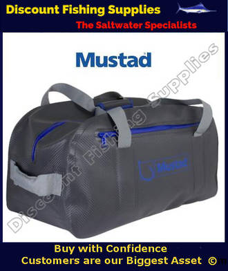 Mustad Dry Duffle Bag 50L Grey/Blue