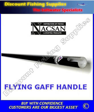 Nacsan Flying Gaff Handle Only