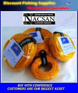 Nacsan PP Rope Pack - 8mm X 20m